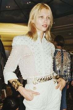 Cool Chic Style Fashion: Balmain spring-summer 2014, #PFW