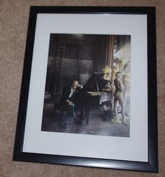 Tony Bennett  Famous Singer  Framed Photo by StetsonCollectibles