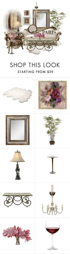 """""""The Perfect Paris Apartment"""" by neicy-i ❤ liked on Polyvore featuring interior, interiors, interior design, home, home decor, interior decorating, UGG Australia, Green Leaf Art, WALL and Pier 1 Imports"""