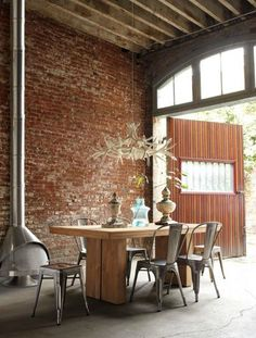 it is my dream to buy a warehouse space and covert it into a loft - styling by DWR