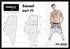 Creating DIY Fashion Trends – Designer Fashion Tips Sewing Men, Sewing Pants, Sewing Clothes, Fashion Sewing, Diy Fashion, Mens Fashion, Clothing Patterns, Sewing Patterns, Harem Pants Pattern