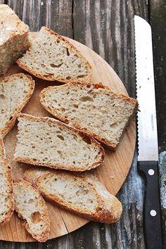 il gaio mondo di Gaia: Pane senza impasto con pasta madre