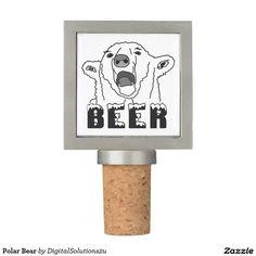 Polar Bear Wine Stopper