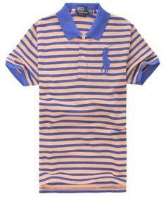 POLO RALPH LAUREN Orange Stripe