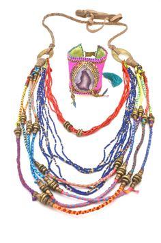 De Petra Nomad Collection Necklace and bracelet Just love it!!!!  www.depetra.com