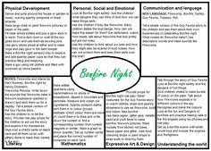 Bonfire Night EYFS Medium Term Plan