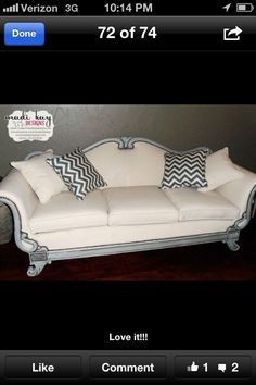Love this couch from madi Kay designs