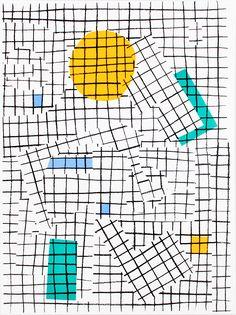 """bingo2000:  """"Mojito"""" by atelier bingo. 30x40 cm - 3 exemplaires - papier Ursus 350g - 4 couleurs"""