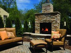 can't wait to refinish my outdoor fireplace/seating area.