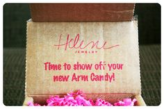 August 2014 Helene Jewelry Box - Helene Jewelry takes the guess work out of accessorizing by sending you fun, feminine and unforgettable pieces. Price: USD $25.00/month -- #beauty #helenejewelry #jewelry #accessories #fashion #bracelet #subscriptionbox