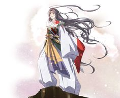 Haha, a lovely mix between two of my favorite anime characters: Itachi and Sesshomaru.