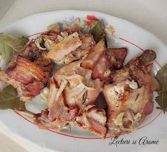 friptura de iepure la cuptor cu vin Lamb Recipes, Salmon Recipes, Romanian Food, Smoked Salmon, Nutritional Supplements, Allrecipes, Poultry, Food To Make, Food And Drink