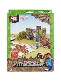 Minecraft Shelter Papercraft | Hot Topic