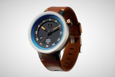 Minus-8 Layer Leather Watch – Men's Gear