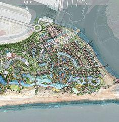 Marina Resort, Resort Villa, Master Plan, Four Seasons, Townhouse, City Photo, Villas, Floor Plans, Landscape