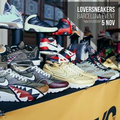 @melonkicks estará on  en LoverSneakers Barcelona Event 2016 Winter Edition  BUY / SELL / TRADE / EXPO  Sábado 5 de Noviembre. Estació del Nord - Barcelona  http://ift.tt/1iZuQ2v  #LSevent2016 #loversneakers #sneakerheads #sneakers #kicks #zapatillas #kicksonfire #kickstagram #sneakerfreaker #nicekicks #barcelona #snkrfrkr #sneakercollector #shoeporn #igsneskercommunity #sneakernews #solecollector #wdywt #womft #sneakeraddict #kotd #smyfh #hypebeast #bambas