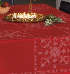 JULSTÄMNING Table Cloth