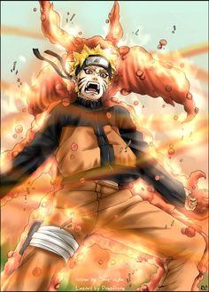 Kyuubi Naruto by starlightdevil on DeviantArt