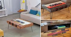 Catering to musicians and music lovers alike, Los Angeles-based company TAYBLES has created a functional piece of furniture that also acts as a nostalgic throwback to the time of homemade mixtapes. The trio of artists behind the company produces cassette tape coffee tables, each work crafted from ha