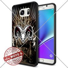 NEW Fordham Rams Logo NCAA #1142 Samsung Note 5 Black Case Smartphone Case Cover Collector TPU Rubber original by ILHAN [Game of Thrones] ILHAN http://www.amazon.com/dp/B0188GQGH8/ref=cm_sw_r_pi_dp_8YDLwb0CYYS8A