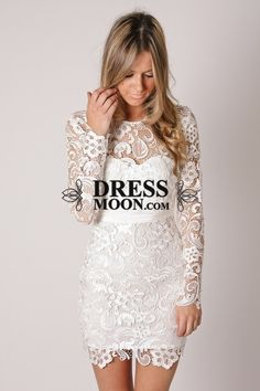 I like this - Stunning Sheath Lace Ivory Rehearsal Dinner Dresses Wedding Reception Dress. Do you think I should buy it?