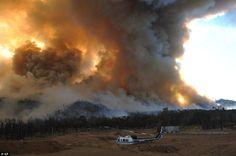 Texas Wildfires - 2011 (Bastrop, TX)