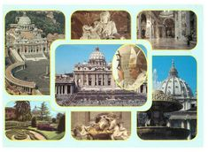 Other Countries, Vatican, Postcards, Rome, Around The Worlds, Italy, History, Vintage, Italia