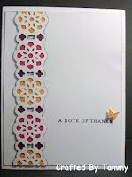 Crafted By Tammy: Thank You Cards