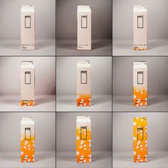 Milk carton that changes color as the milk expires. No more sniffing...