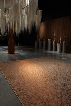 Handwoven metal & fiber rug in our casablanca weave. Carefully woven by master weavers in natural fique fiber and copper threads. #Rugs #MetalRugs #Handmande #Handwoven #Fiber Casablanca, Weave, Hand Weaving, Fiber, Copper, Rugs, Natural, Metal, Home Decor