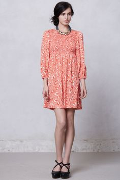 At Sea Mini Dress - Anthropologie.com..Oh she's soooo cute :)