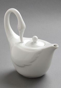 Swans Upon a Time Tea Pot. he he.... yes, please....