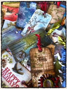 Tim Holtz unique style for Christmas