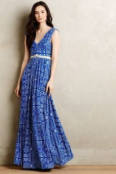 Plenty by Tracy Reese Trapunto Maxi Dress #AnthroFave
