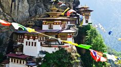The peaceful Paro Taktsang towers above Bhutan's Paro Valley (Credit: Credit: Paul Street/Alamy)