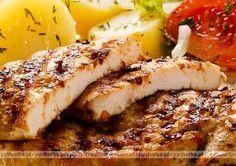 Filet z kurczaka pieczony w folii z ziemniakami i serem