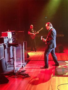 """Bonamassa play'n in Lubbock Texas. Wonder if he played  """"Peggy Sue?"""" Buddy Holly reference for all you young'ns out there."""