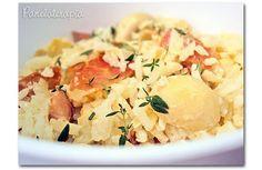PANELATERAPIA - Blog de Culinária, Gastronomia e Receitas: Arroz com Parma e Champignon