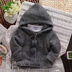 Cheap pullover manufacturers, Buy Quality pullover heart directly from China pullover sweatshirt Suppliers: children's fashion 2014 spring autumn winter pullovers sweaters kids hooded sweaters Girls Sweaters, Baby Sweaters, Cheap Sweaters, Baby Cardigan Knitting Pattern, Baby Knitting, Hooded Sweater, Cotton Sweater, Knitted Baby Clothes, Kids Clothes Boys