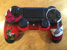 Captain Hook themed PS4 controller I customized for my boyfriend :)