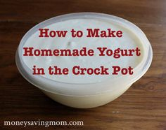 This is so easy to do so I wanted to pin it again. If you don't make yogurt, you NEED to try this. I always strain mine to get it thicker, but it ALWAYS turns out perfect when I make it.