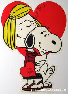 Peppermint Patty and Snoopy Valentine