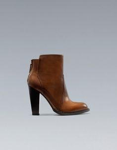ANKLE BOOT WITH ZIP - Ankle boots - Shoes - Woman - ZARA 90