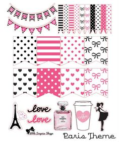 1 sheet includes: - 2 weekend banners - 12 small flags - 10 large flags (fit…