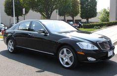 Black Mercedes 4 dr