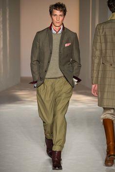 Dunhill Spring 2016 Menswear Fashion Show