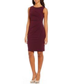 06e37c717f1 Calvin Klein Sideburst Sheath Dress. After 5 AttireAfter ...