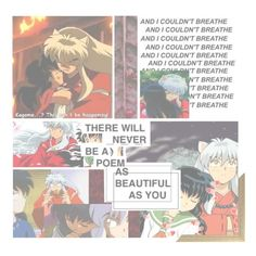 """""""Kagome and Inuyahsa"""" by princessmikyrah ❤ liked on Polyvore featuring art"""
