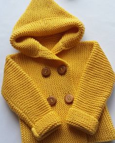 Knitted baby cardigan, hat # baby Knitting baby shoes very easy to… Christmas gnome hand-knitted