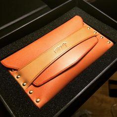 #jiyu #集予 #leathergoods #handmade #handsewing #leather #leathercraft…